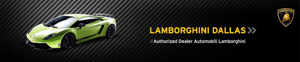 Lamborghini Dallas // Authorized Dealer Automobili Lamborghini