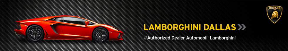 Lamborghini Dallas // Authorized Dealer Automobili Lamborghini